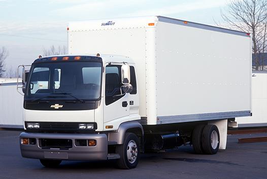 Fiberglass Reinforced Plywood Van Truck Bodies